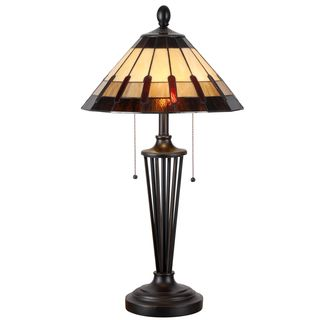 Design Craft Audrey Bronze 30-inch Table Lamp