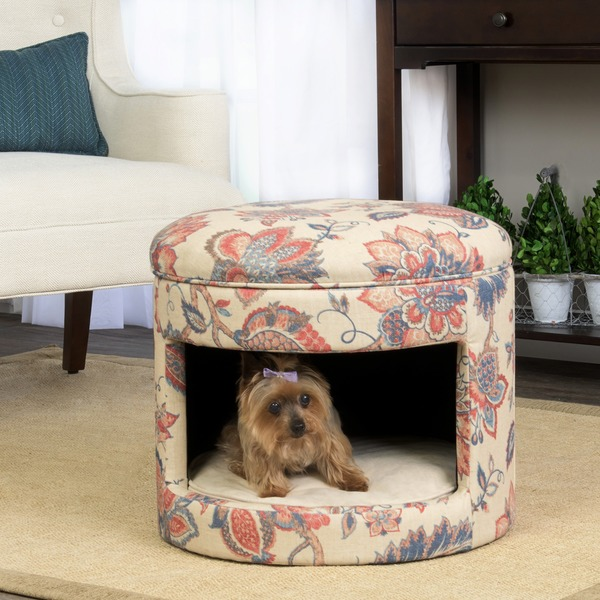 Homepop Hideaway Ottoman Dog Or Cat Bed Free Shipping