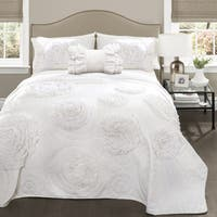 Lush Decor Fiorella Quilt 4 Piece Set Overstock Com Shopping The Best Deals On Quilts Coverlets 19036358