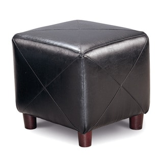 Coaster Company Faux Leather Cube Ottoman
