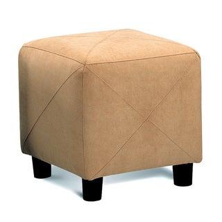 Coaster Company Microfiber Cube Ottoman