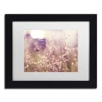 Beata Czyzowska Young 'Afternoon Tales' Matted Framed Art