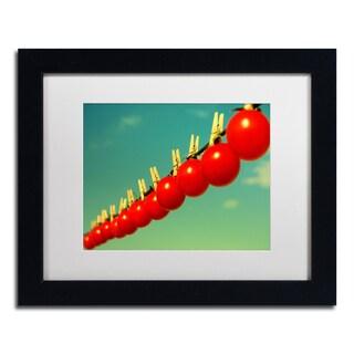 Beata Czyzowska Young 'Sundried Tomatoes' Matted Framed Art