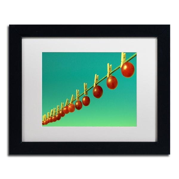 Beata Czyzowska Young 'Making Raisins' Matted Framed Art