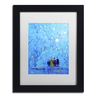 Lowell S.V. Devin 'Ice Palace Color Guard' Matted Framed Art