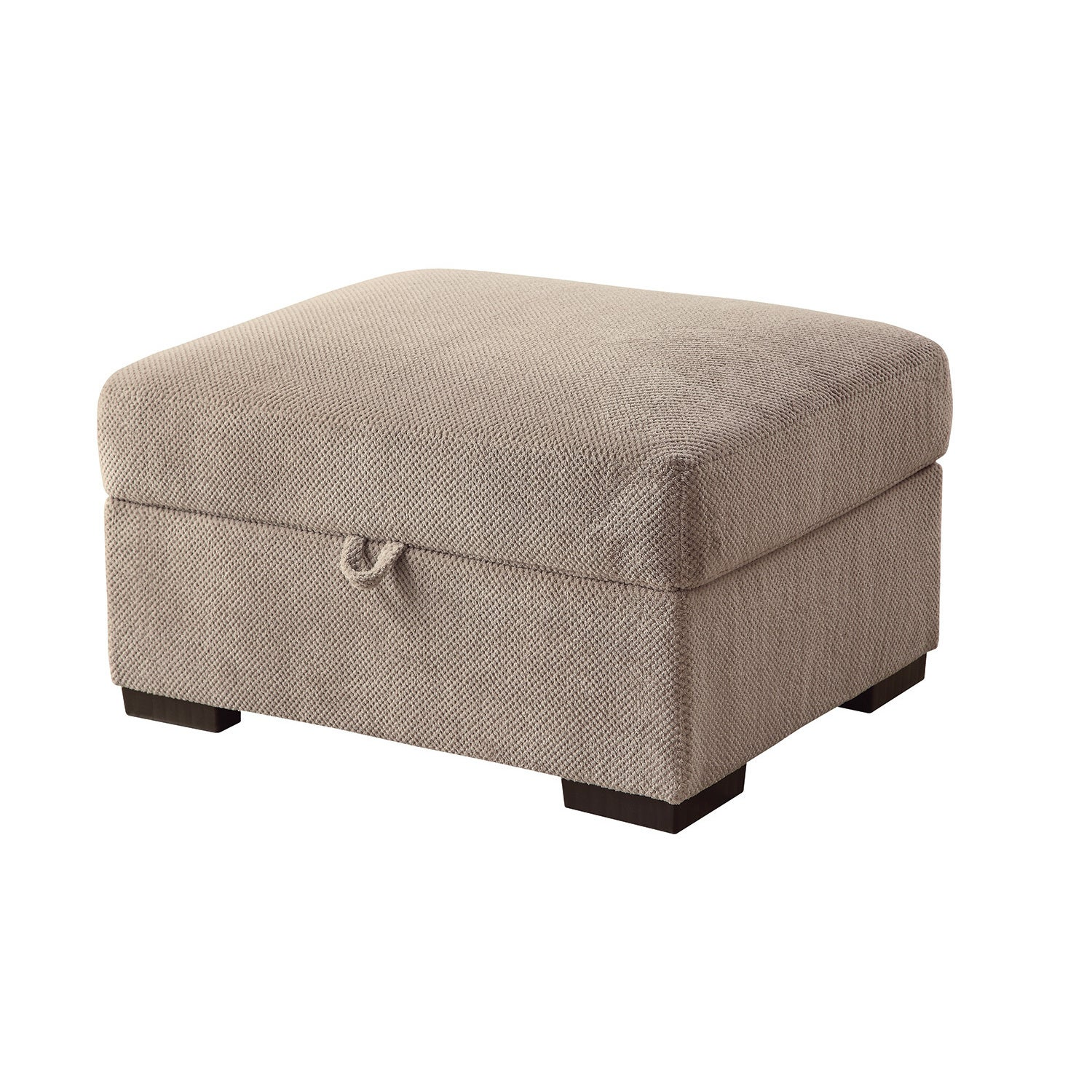 Coaster Furniture Microfiber Lift-top Storage Ottoman (Ta...