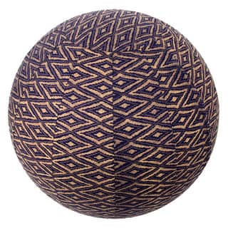 Handmade Yoga Ball Cover Navy Ikat Design (Thailand)|https://ak1.ostkcdn.com/images/products/12187062/P19036630.jpg?impolicy=medium