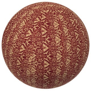 Handmade Yoga Ball Cover Red Rhapsody Design (Thailand)