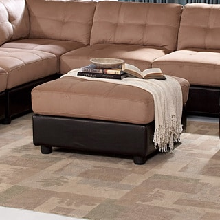 Coaster Company Home Furnishings Casual Ottoman (Brown)