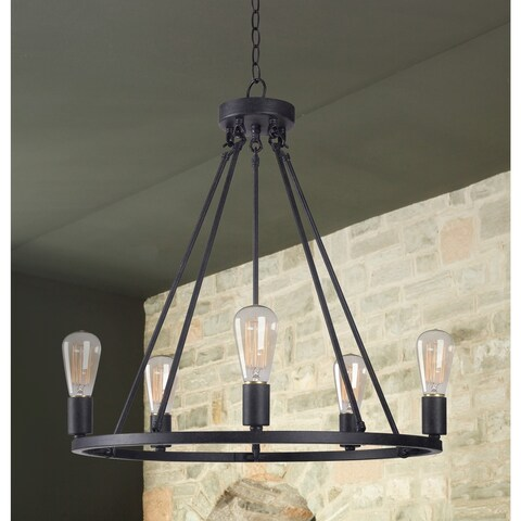 Pine Canopy Lincoln 5 Light Chandelier