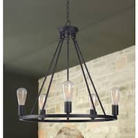 The Gray Barn Lake View 5 Light Chandelier