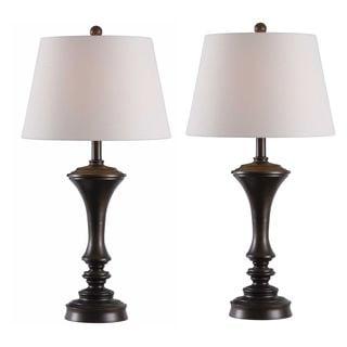Laurel Creek Linden 2-pack Table Lamp