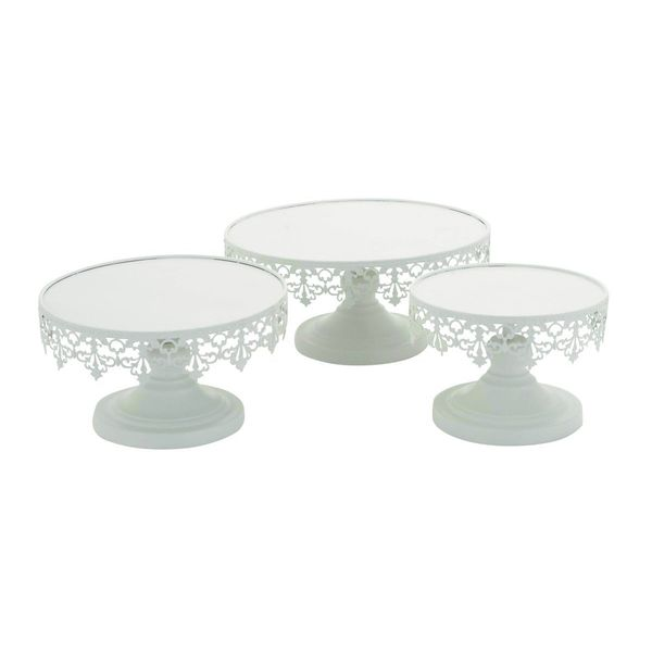 Metal Cup Cake Stand (Set of 3)