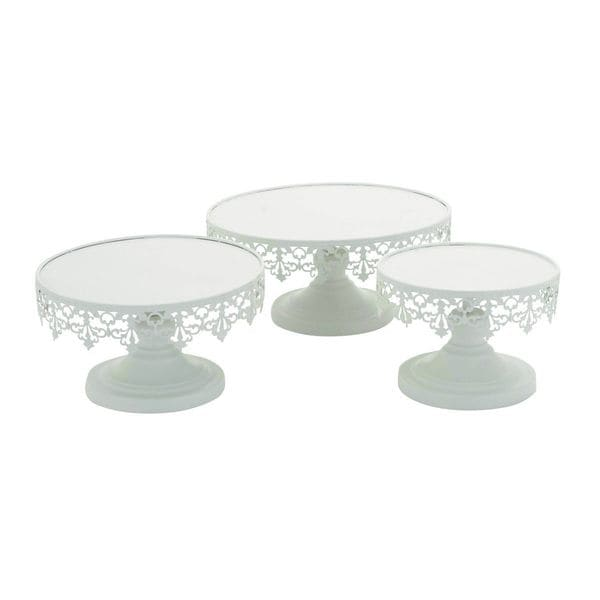 Shop Metal Cup Cake Stand Set Of 3 Free Shipping Today