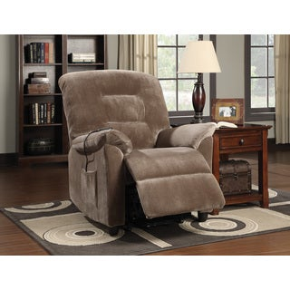 Coaster Company Brown Power Lift Velvet Recliner  sc 1 st  Overstock.com & Coaster Recliner Chairs u0026 Rocking Recliners - Shop The Best Deals ... islam-shia.org