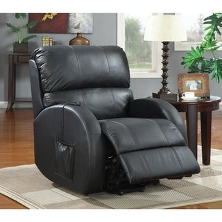 Coaster Company Black Power Lift Leather Recliner & Vinyl Recliner Chairs u0026 Rocking Recliners - Shop The Best Deals ... islam-shia.org
