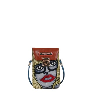 Nicole Lee Jodie Blondie Print Mini Crossbody