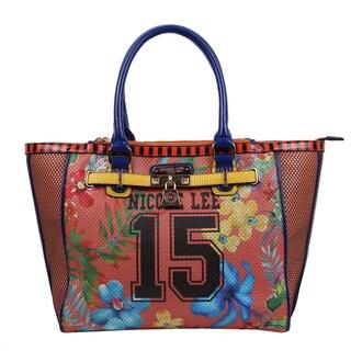 Nicole Lee Coral '15' Print Tote Bag