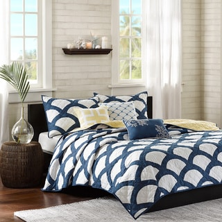 Madison Park Montego 6-piece King Size Coverlet Set (As Is Item)