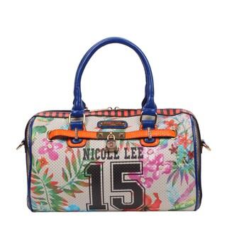 Nicole Lee Boston Beige Numeric 15 Print Bag