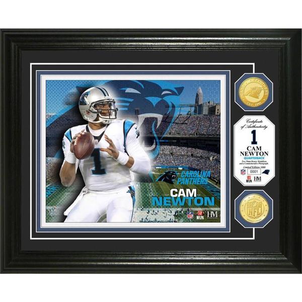 Cam Newton Bronze Coin Photo Mint