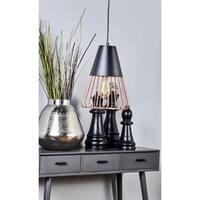 Metal Pendant Light With Bulb