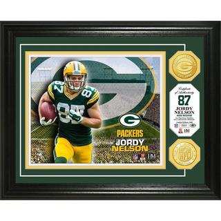Jordy Nelson Bronze Coin Photo Mint