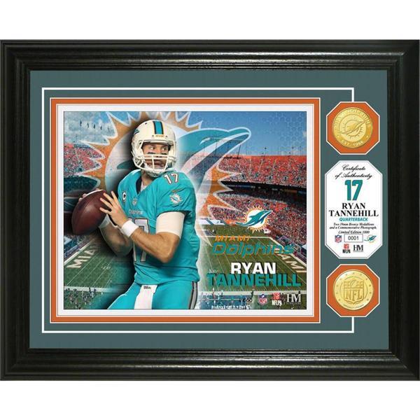 Ryan Tannehill Bronze Coin Photo Mint
