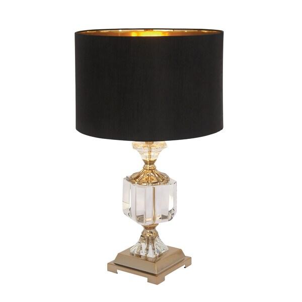 Metal Crystal Lamp
