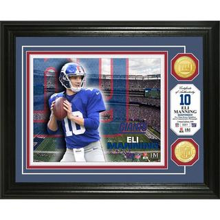 Eli Manning Bronze Coin Photo Mint