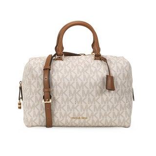 Michael Kors Vanilla Large Kirby Satchel Handbag