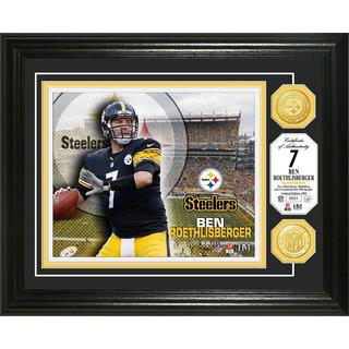 Ben Roesthlisberger Bronze Coin Photo Mint