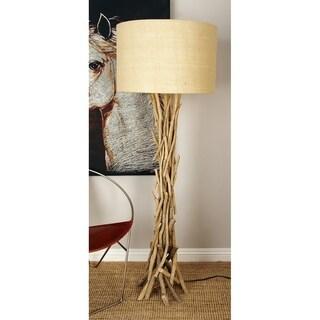 Driftwood Metal 13-inch-wide x 59-inch-high Floor Lamp