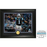 """Cam Newton """"Quote"""" Silver Coin Photo Mint"""