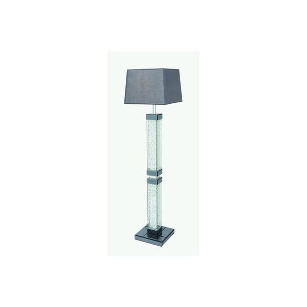Glass Encased Crystal Bubble 65-inch Floor Lamp