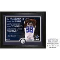 "Dez Bryant ""Quote"" Silver Coin Photo Mint"