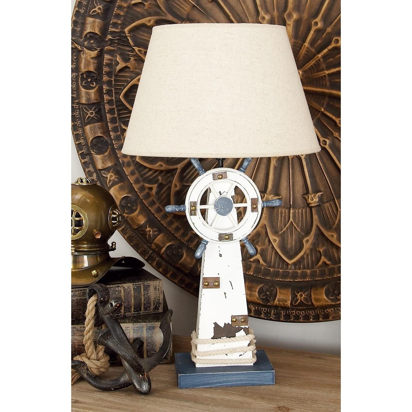 Studio 350 Wood Lighthouse Table Lamp (WD Lighthouse Tabl...