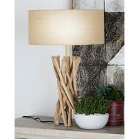 Driftwood, Metal 23-inch Table Lamp