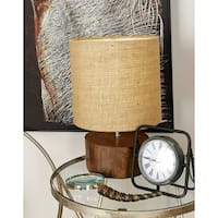 Natural Reflections 14-inch Mahogany Log Lamp