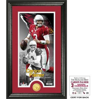 "Carson Palmer ""Supreme"" Bronze Coin Panoramic Photo Mint"