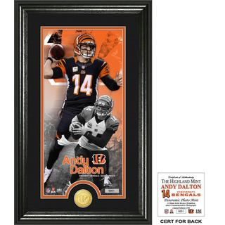 "Andy Dalton ""Supreme"" Bronze Coin Panoramic Photo Mint"