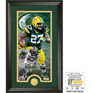 "Eddie Lacy ""Supreme"" Bronze Coin Panoramic Photo Mint"