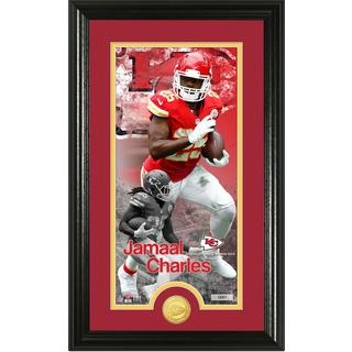 "Jamaal Charles ""Supreme"" Bronze Coin Panoramic Photo Mint"