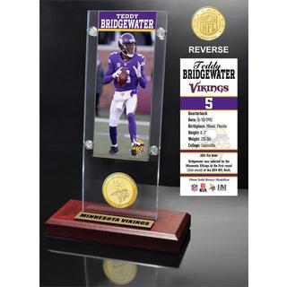 Teddy Bridgewater Ticket & Bronze Coin Ticket Acrylic