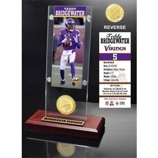 Teddy Bridgewater Ticket & Bronze Coin Ticket Acrylic