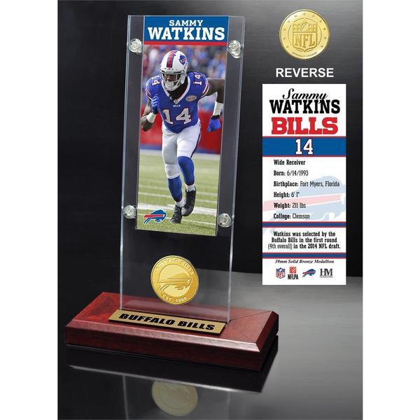 Sammy Watkins Ticket & Bronze Coin Ticket Acrylic
