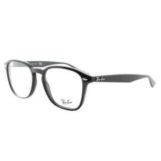Ray-Ban RX 5352 2000 Shiny Black Plastic Square 52mm Eyeglasses