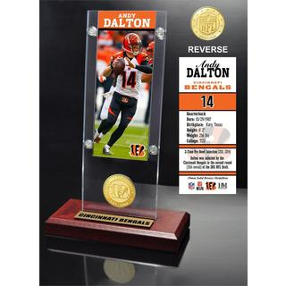 Andy Dalton Ticket & Bronze Coin Ticket Acrylic