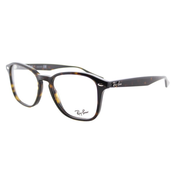 dec593bea9 Shop Ray-Ban RX 5352 2012 Havana Plastic Square 52mm Eyeglasses - Free  Shipping Today - Overstock - 12187608
