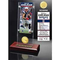 Julian Edelman Ticket & Bronze Coin Ticket Acrylic